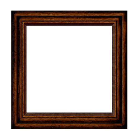 panting: wood Picture Frame with mount