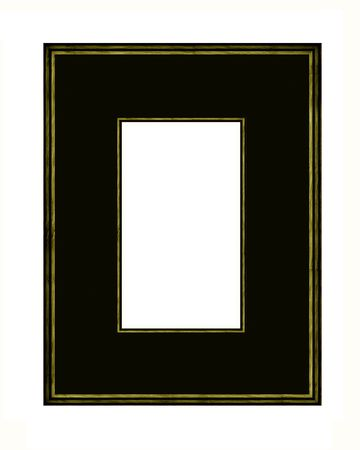 framing: wood Picture Frame with mount