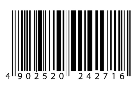 Bar code label,2D digital art Stock Photo