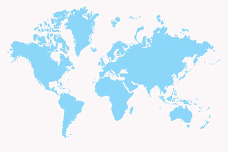 World map ,2D art Stock Photo - 3398173