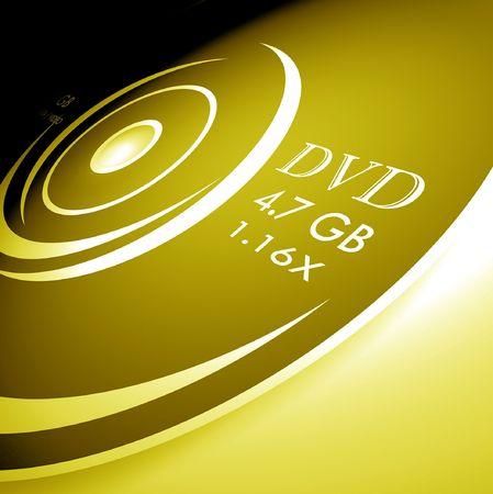 hd: DVD disk,2D  digital art Stock Photo