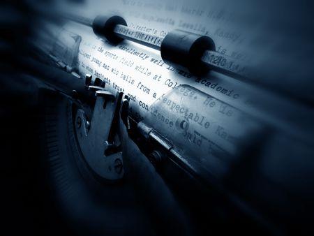 literal: old typewriter