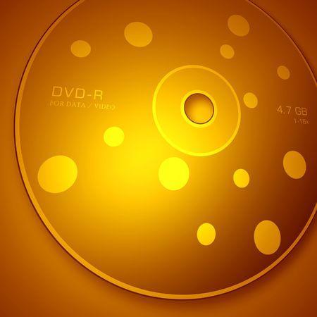DVD disk,2D digital art photo