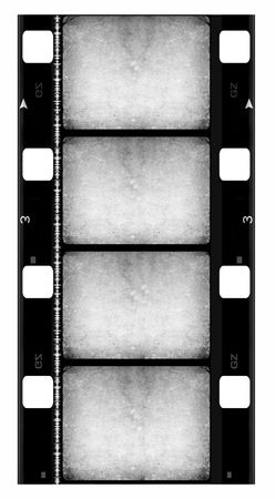 16 mm Film roll,2D digital art Stock Photo - 3440948