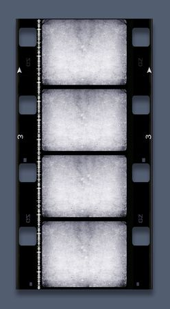 16 mm Film roll,2D digital art Stock Photo - 3405402