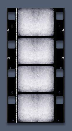 2d: 16 mm Film roll,2D digital art