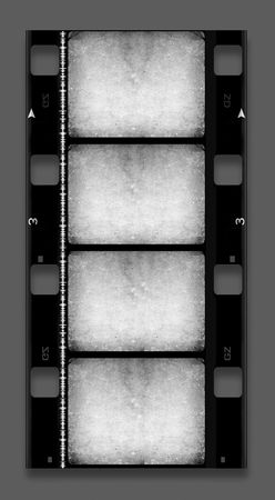 16 mm Film roll,2D digital art