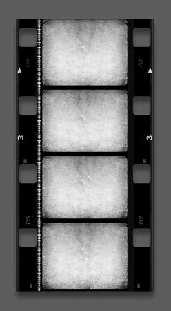 photographic film: 16 mm Film roll,2D digital art