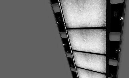 16 mm Film roll,2D digital art Stock Photo - 3405359
