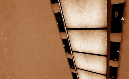 16 mm Film roll,2D digital art Stock Photo - 3405352