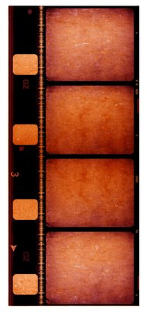 8 mm Film roll,2D digital art Stock Photo - 3405401