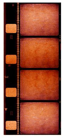 8 mm Film roll,2D digital art Stock Photo - 3405401