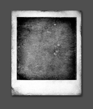 confines: Old Polaroids film for background,2D art Stock Photo
