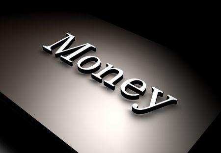cash flows: 3D Render  text,3D art