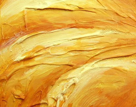 yellowish: Closeup of textured wall for background