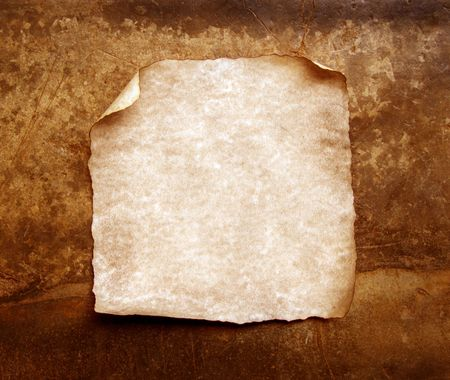 torn edges: Old paper with burned and torn edges