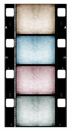 16mm Film roll,2D digital art Stock Photo - 3406374