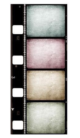 8mm Film roll,2D digital art Stock Photo - 3406373