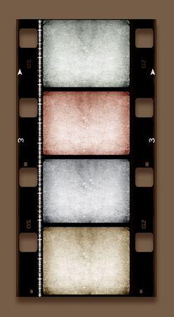 16mm Film roll,2D digital art Stock Photo - 3406371