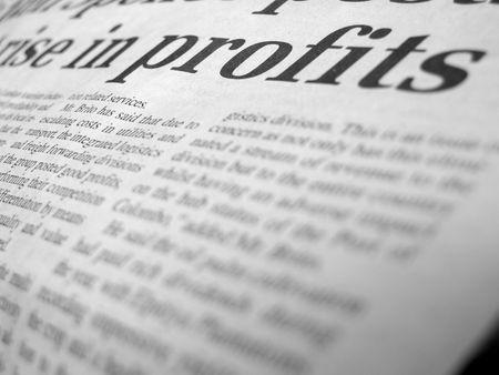 newsworthy: Close up of newpaper