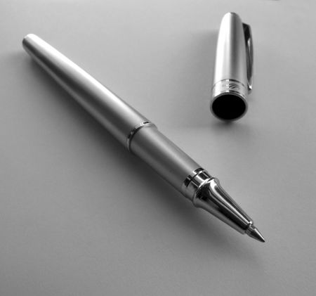 Close up of Writing Pen Stock Photo - 3431419