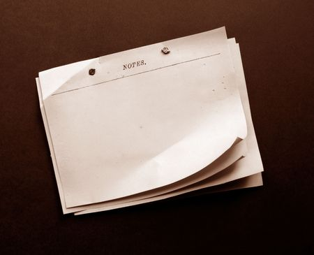 Note papers Stock Photo - 3433206