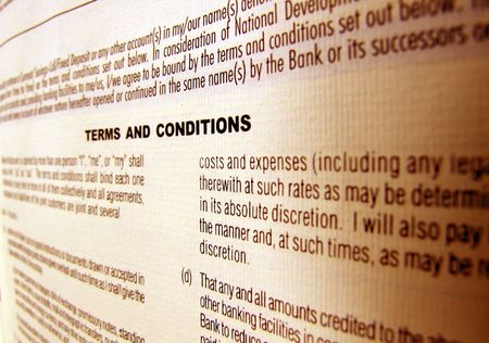 jargon: Close up a business agreement Stock Photo