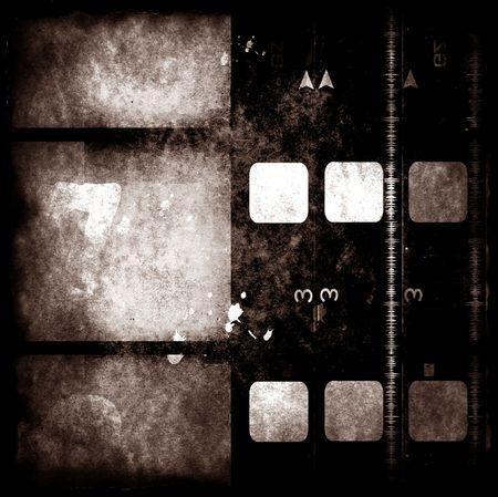 2d: Grungy film ,2D digital art