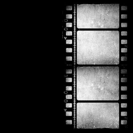 movie film reel: Antiguo de 35 mm de rollo de pel�cula de cine