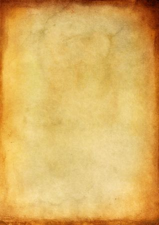 splotchy: Old paper with burned edges for background