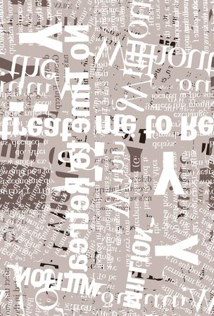 Close up of newspaper text photo
