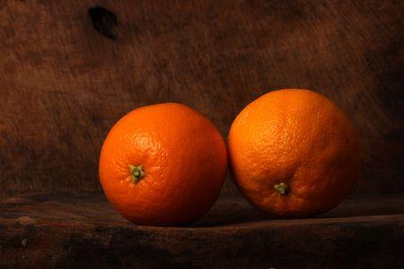 Close up of Orange fruit Stock Photo - 5021325