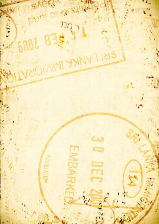 passaport: Passport Stamps