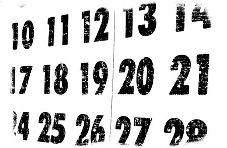 Close up of a calendar Stock Photo - 5986322