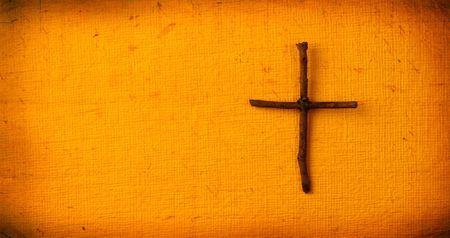 nazareth: Close up of  holy cross Stock Photo
