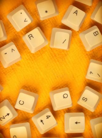 Close up of Computer keys Stock Photo - 7069841