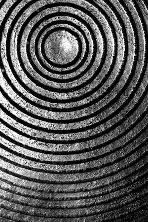 Close up of Textured  metal photo