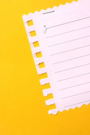Close up of note paper for background Stockfoto