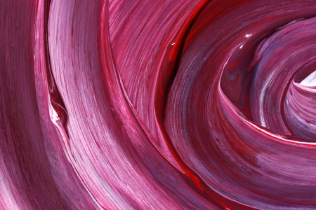 panting: Close up of abstract hand painted art