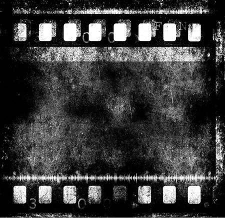 Movie Film reel,2D digital art