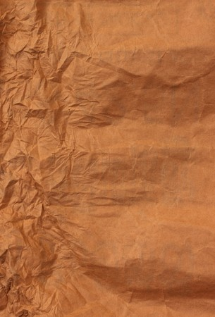 creased: Close up of  Brown Paper  for background Stock Photo