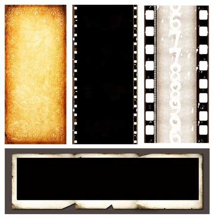 Close up of film strips Stock Photo - 7494940