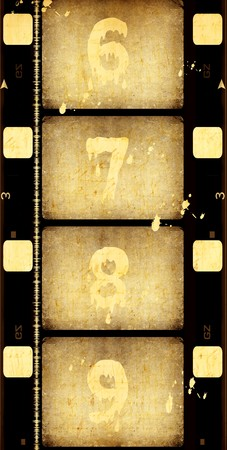 photo strip: Old film