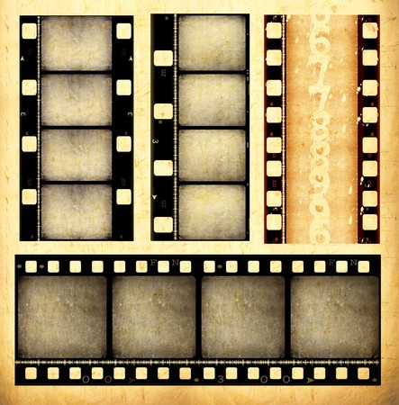 film strip: Old film