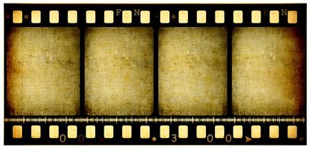Oude 35mm film film rollen, 2D digitale kunst  Stockfoto - 7494978