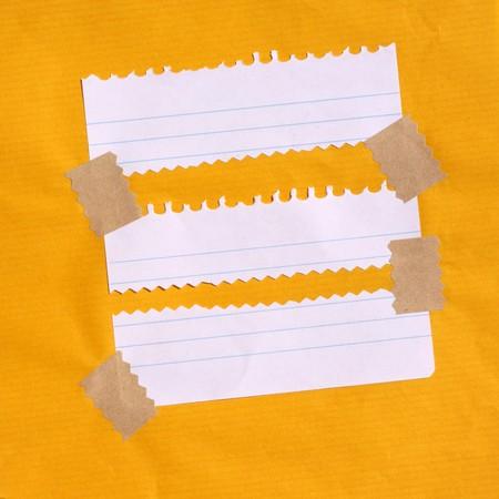 foglio a righe: Close up di carta nota per sfondo  Archivio Fotografico
