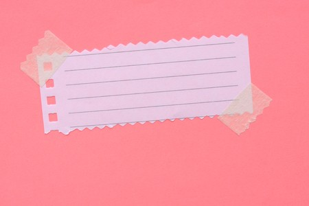 Close up of note paper for background  Stock Photo