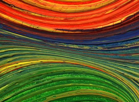 creativity artist: Mano abstracto pintado de arte para el fondo  Foto de archivo