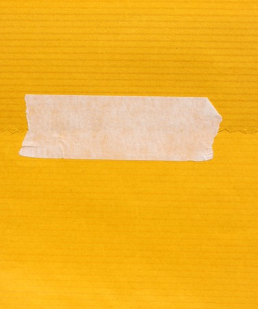 tear duct: Close up of masking tape with paper