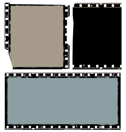 Close up of vintage movie film strips Stock Photo - 8463001